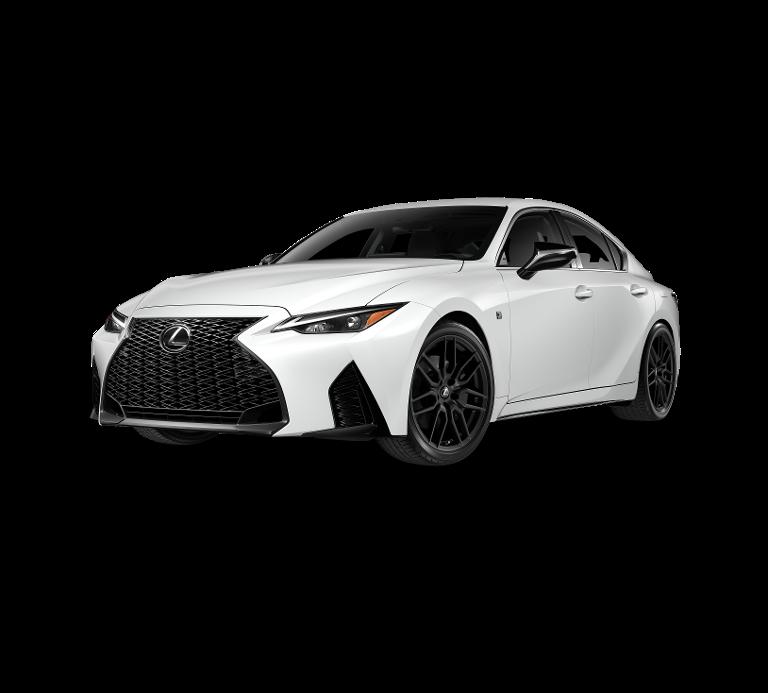 New 2021 Lexus IS 350 F SPORT AWD